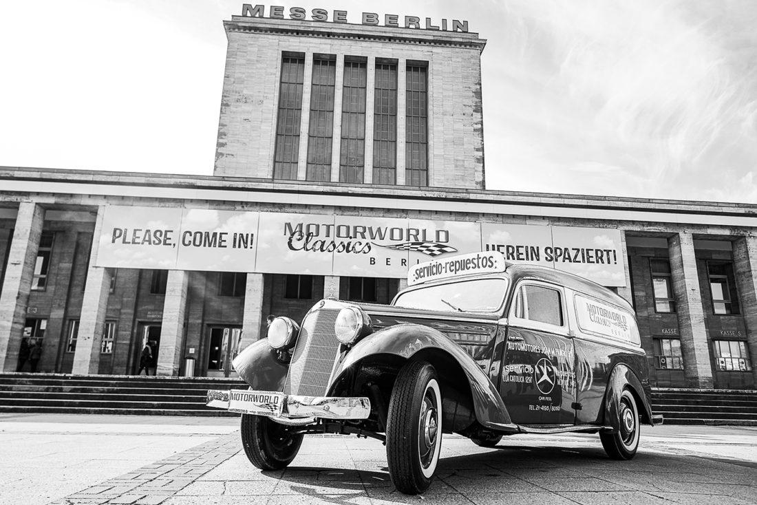 (DE) Oldtimer-Messe Berlin